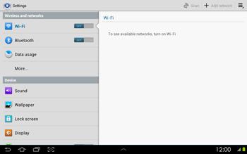 Samsung P5100 Galaxy Tab 2 10-1 - Internet - Manual configuration - Step 4