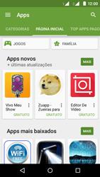 Motorola Moto E (2ª Geração) - Aplicativos - Como baixar aplicativos - Etapa 5