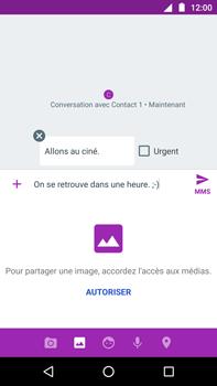 Motorola Moto Z Play - MMS - Envoi d