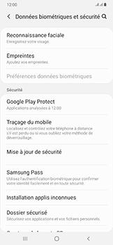 Samsung Galaxy A50 - Appareil - configurer Localiser mon appareil - Étape 5