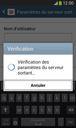 Samsung S7275 Galaxy Ace 3 - E-mail - Configurer l