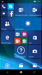 Microsoft Lumia 550 - Internet no telemóvel - Como configurar ligação à internet -  1