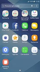 Samsung Galaxy A3 (2017) - SMS - Como configurar o centro de mensagens -  3
