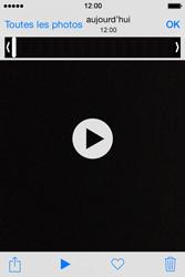 Apple iPhone 4S (iOS 8) - Photos, vidéos, musique - Créer une vidéo - Étape 8