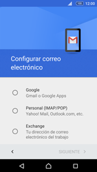 Sony Xperia M5 (E5603) - E-mail - Configurar Gmail - Paso 7