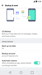 LG G5 - Android Nougat - Device maintenance - Create a backup of your data - Step 10