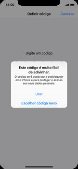 Apple iPhone X - Segurança - Como ativar o código de bloqueio do ecrã -  6