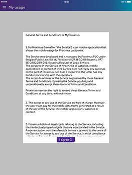Apple iPad Air iOS 10 - Applications - MyProximus - Step 12