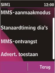 Nokia C2-03 - MMS - probleem met ontvangen - Stap 9