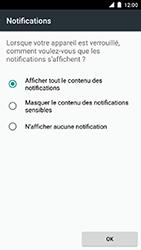 Motorola Moto C Plus - Sécuriser votre mobile - Activer le code de verrouillage - Étape 11