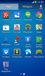 Samsung Galaxy Core Plus - Applications - Downloading applications - Step 3