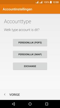 Acer Liquid Z630 - E-mail - e-mail instellen: IMAP (aanbevolen) - Stap 7