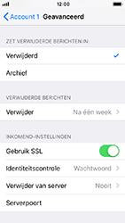 Apple iphone-5s-ios-12 - E-mail - Account instellen (POP3 zonder SMTP-verificatie) - Stap 22
