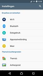 Sony Xperia XZ Premium (G8141) - WiFi - Mobiele hotspot instellen - Stap 4
