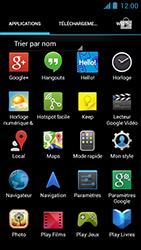 Acer Liquid Z5 - WiFi et Bluetooth - Configuration manuelle - Étape 3