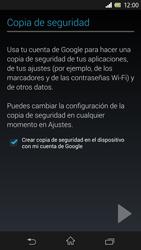 Sony Xperia Z - Primeros pasos - Activar el equipo - Paso 39