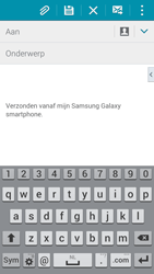 Samsung G900F Galaxy S5 - E-mail - Bericht met attachment versturen - Stap 5