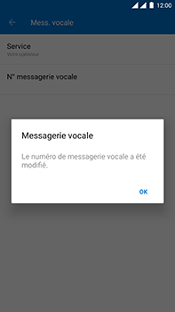 OnePlus 3 - Android Oreo - Messagerie vocale - configuration manuelle - Étape 13