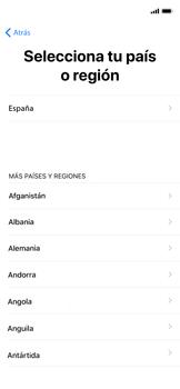Apple iPhone X - Primeros pasos - Activar el equipo - Paso 8