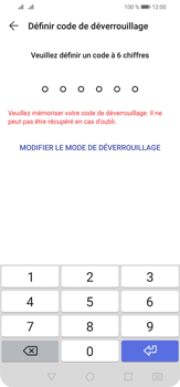 Huawei P30 Lite - Sécurité - activéz le code PIN de l'appareil - Étape 6