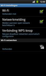 Samsung I9001 Galaxy S Plus - Wifi - handmatig instellen - Stap 9