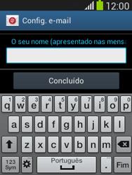 Samsung Galaxy Pocket Neo - Email - Configurar a conta de Email -  19