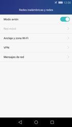 Huawei Huawei Y6 - Funciones básicas - Activar o desactivar el modo avión - Paso 5