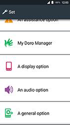 Doro 8035 - Device - Factory reset - Step 3