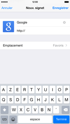 Apple iPhone 6 - Internet - Navigation sur Internet - Étape 6