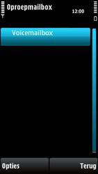 Nokia X6-00 - Voicemail - handmatig instellen - Stap 7