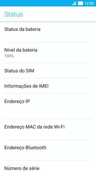 Asus Zenfone 3 - Primeiros passos - Como encontrar o número de IMEI do seu aparelho - Etapa 6