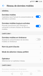 Huawei P9 Lite - Android Nougat - Internet - Désactiver du roaming de données - Étape 6