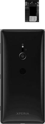 Sony Xperia XZ3 - Appareil - comment insérer une carte SIM - Étape 4