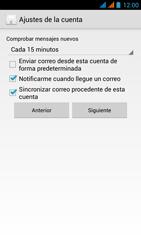 Wiko Stairway - E-mail - Configurar correo electrónico - Paso 17