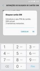 Samsung Galaxy S7 - Android Nougat - Segurança - Como ativar o código PIN do cartão de telemóvel -  8