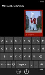 Nokia Lumia 920 LTE - Mms - Envoi d