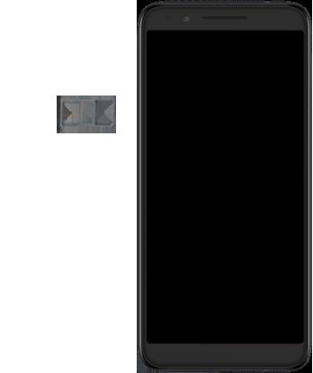 Alcatel 3L - Premiers pas - Insérer la carte SIM - Étape 3
