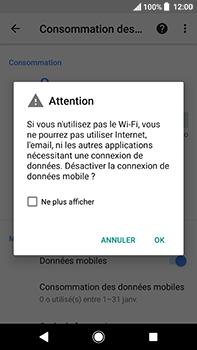Sony Xperia XA2 Ultra - Internet et connexion - Désactiver la connexion Internet - Étape 7