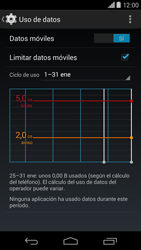 Motorola Moto X (2ª Gen) - Internet - Ver uso de datos - Paso 10