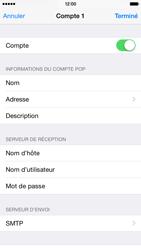 Apple iPhone 6 iOS 8 - E-mails - Ajouter ou modifier un compte e-mail - Étape 17