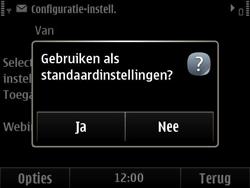 Nokia E6-00 - Internet - automatisch instellen - Stap 6