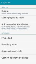 Samsung G850F Galaxy Alpha - Internet - Configurar Internet - Paso 22