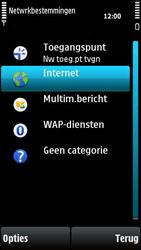 Nokia X6-00 - Internet - handmatig instellen - Stap 7