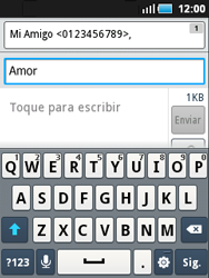 Samsung S5570 Galaxy Mini - Mensajería - Escribir y enviar un mensaje multimedia - Paso 8