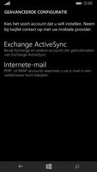 Microsoft Lumia 535 - E-mail - Handmatig instellen - Stap 10