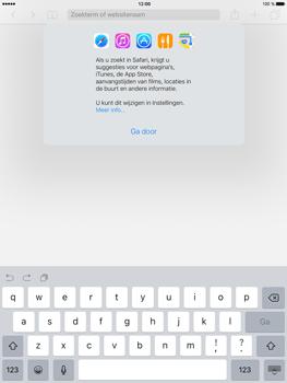 Apple iPad Mini 4 - Internet - Hoe te internetten - Stap 3