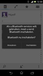 Sony C1905 Xperia M - Contactgegevens overzetten - delen via Bluetooth - Stap 10