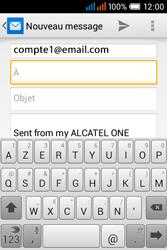 Alcatel OT-4015X Pop C1 - E-mails - Envoyer un e-mail - Étape 5