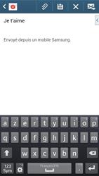 Samsung G386F Galaxy Core LTE - E-mail - envoyer un e-mail - Étape 9