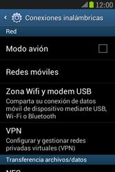 Samsung S6310 Galaxy Young - Mensajería - Configurar el equipo para mensajes multimedia - Paso 5